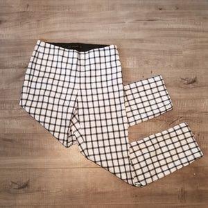 ZARA high waist chekered pants